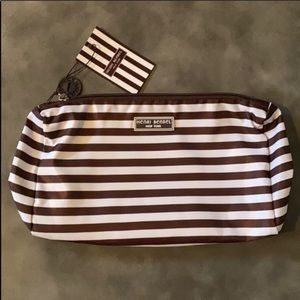 Henri bendel centennial stripe cosmetic bag